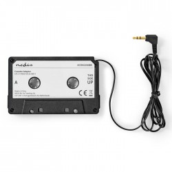 NEDIS ACON2200BK Cassette Adapter 3.5 mm Male Black