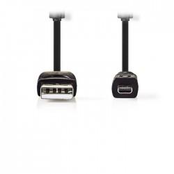 NEDIS CCGP60810BK20 Camera Data Cable USB A Male - UC-E6 8-pin Male 2.0 m Black
