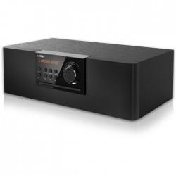 NOD ELEGANT Mini Hi-Fi System with CD, USB, Bluetooth, FM, 30W