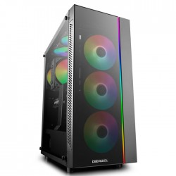 DEEPCOOL MATREXX 55 ADD-RGB 3F COMPUTER CASE BLACK
