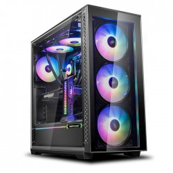 DEEPCOOL MATREXX 70 ADD-RGB 3F COMPUTER CASE BK
