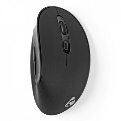 NEDIS ERGOMSWS100BK Ergonomic Wireless Mouse 1600 dpi 6-Button Black