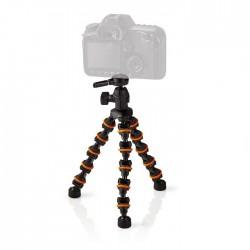 NEDIS GPOD3200BK Mini Tripod Max 1 kg 26.0 cm Flexible Black/Orange