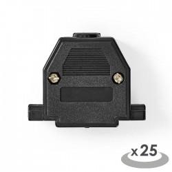 NEDIS CCVC52895ME D-Sub Connector Housing 25 pieces Metal