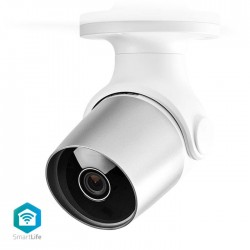 NEDIS WIFICO11CWT Wi-Fi Smart IP Camera Outdoor Waterproof Full HD 1080p