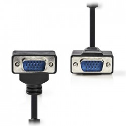 NEDIS CCGP59050BK50 VGA Cable VGA Male - VGA Male 90° Angled 5.0 m Black