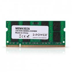 2-POWER MEM4302A 2GB SoDIMM DDR2 PC2-6400S 800MHz CL6