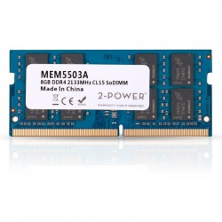 2-POWER MEM5503A 8GB SoDIMM DDR4 PC4-17000S 2133MHz CL15