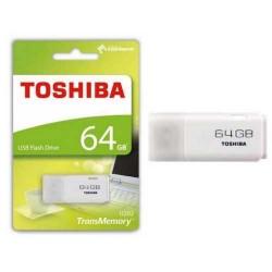 USB STICK TOSHIBA 64GB  HAYABUSA WHITE - ΑΣΠΡΟ