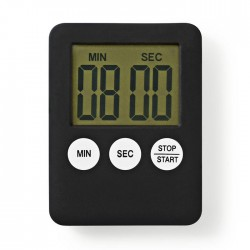 NEDIS KATR100BK Kitchen Timer Digital Display Black