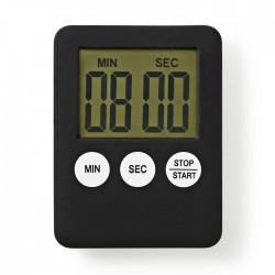 NEDIS KATR100BK Kitchen Timer Digital Display Black