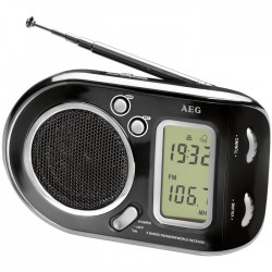 WE 4125 BLACK MULTI BAND RADIO           006809
