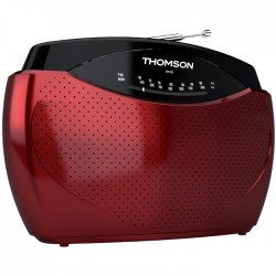 THOMSON RT223 RED PORTABLE FM RADIO