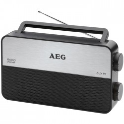 TR 4152 AEG Radio: Portable 2-band radio (FM/AM) 006687