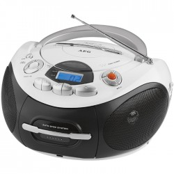 SR 4353 AEG RADIO CD PLAYER