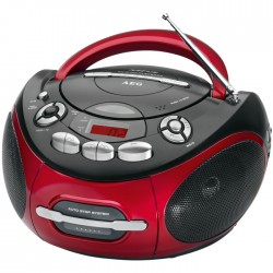 SR 4353 RED AEG  RADIO CD PLAYER  005536