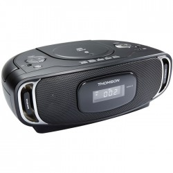 THOMSON RCD400BT BLACK PORTABLE RADIO CD/MP3/USB/BLUETOOTH (8W)