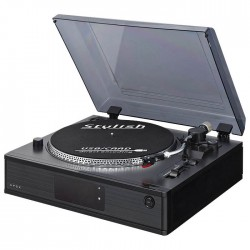 THOMSON TT500CD TURNTABLE RADIO CD PLAYER (MP3 ENCODER)