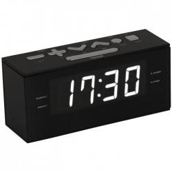BIGBEN RR60NG BLACK FM PLL RADIO CLOCK