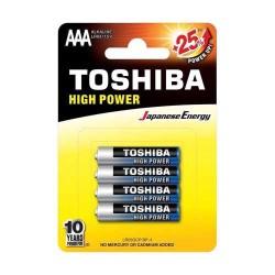 TOSHIBA LR03 AAA, ULTRA ΑΛΚΑΛΙΚΗ ΜΠΑΤΑΡΙΑ  Blister 4 τεμ