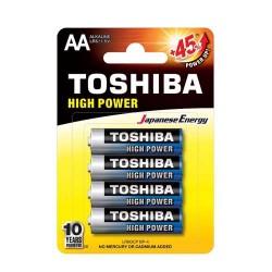 TOSHIBA LR6 AA, ULTRA ΑΛΚΑΛΙΚΗ ΜΠΑΤΑΡΙΑ  Blister 4 τεμ