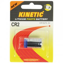 CR2  KINETIC 3V/600mAH PHOTO LITHIUM