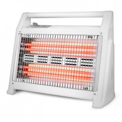 LIFE Q-HEAT Quartz heater 1200W,with 4 lamps,fan and humidifier