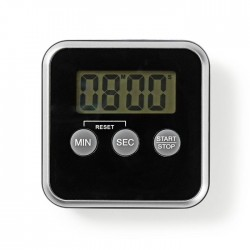 NEDIS KATR102BK Kitchen Timer Digital Display Black