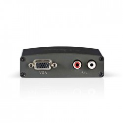 NEDIS VCON3411AT HDMI to VGA Converter 1-way - HDMI input VGA + 2x RCA (L/R) Out