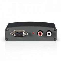 NEDIS VCON3410AT VGA to HDMI Converter 1-way - VGA + 2x RCA (L/R) Input HDMI oup