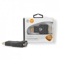 NEDIS CCBW37935AT DisplayPort - VGA Adapter DisplayPort Male - VGA Female