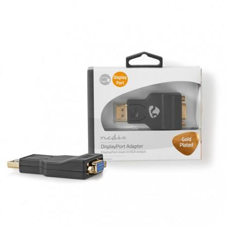NEDIS CCBW37935AT DisplayPort - VGA Adapter DisplayPort Male - VGA Female