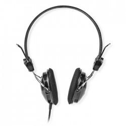 NEDIS HPWD1103BK On-Ear Headphones Wired 1.10 m Black