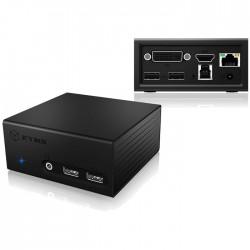 IB-DK2401AC USB 3.0 NOTEBOOK DOCKING STATION / 20854