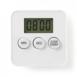 NEDIS KATR101WT Kitchen Timer Digital Display White