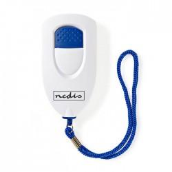 NEDIS ALRMP40WT Personal Safety Alarm Lightweight = 85dB Alarm White