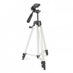 NEDIS TPOD2200GY Tripod Pan & Tilt Max 3 kg 127 cm Black/Silver