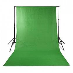 NEDIS BDRP33GN Photo Studio Backdrop 2.95 x 2.95 m Green