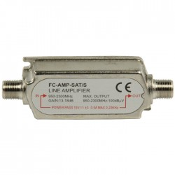 FC-AMP-SAT/S  IN LINE AMPLIFIER