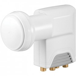 67272 UNIVERSAL QUAD LNB DIGITAL SAT-LNB FOR 4 DEVICES (HDTV/3D)