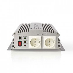 NEDIS PIMS170024 Power Inverter Modified Sine Wave 24 V DC - 230 V AC 1700W 2x S