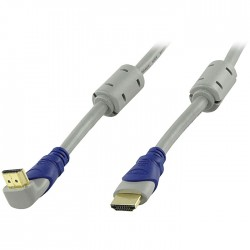 HQSV-405-1.5 HDMI HIGH SPEED MALE 19P - HOOKED MALE 19P CABLE