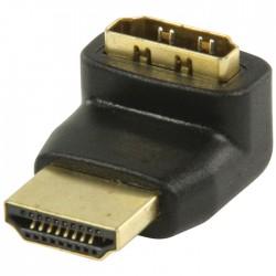 VGVP 34902 B HDMI adapter HDMI connector 270°