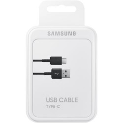 SAMSUNG DATACABLE USB-C 1,5m BLACK BLISTER