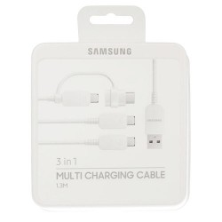 SAMSUNG MULTI CHARGING CABLE WHITE BLISTER