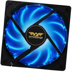 ARMAGGEDDON AZURE BLADE FAN 12CM LED BLUE