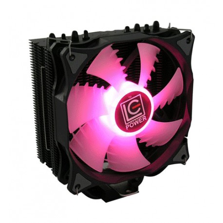 LC-POWER CPU COLLER FOR AMD AND INTEL CPUS 120MM RGB FAN