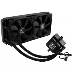"LC POWER CPU COOLER LIQUID FOR AMD AND INTEL CPU""s 2x120mm FAN"