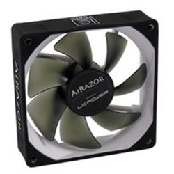 LC-POWER 80mm CASE FAN 4PIN PWM AIRAZOR