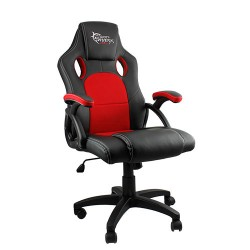 <p> WHITE SHARK GAMING CHAIR KINGS THRONE BLACK/RED</p>